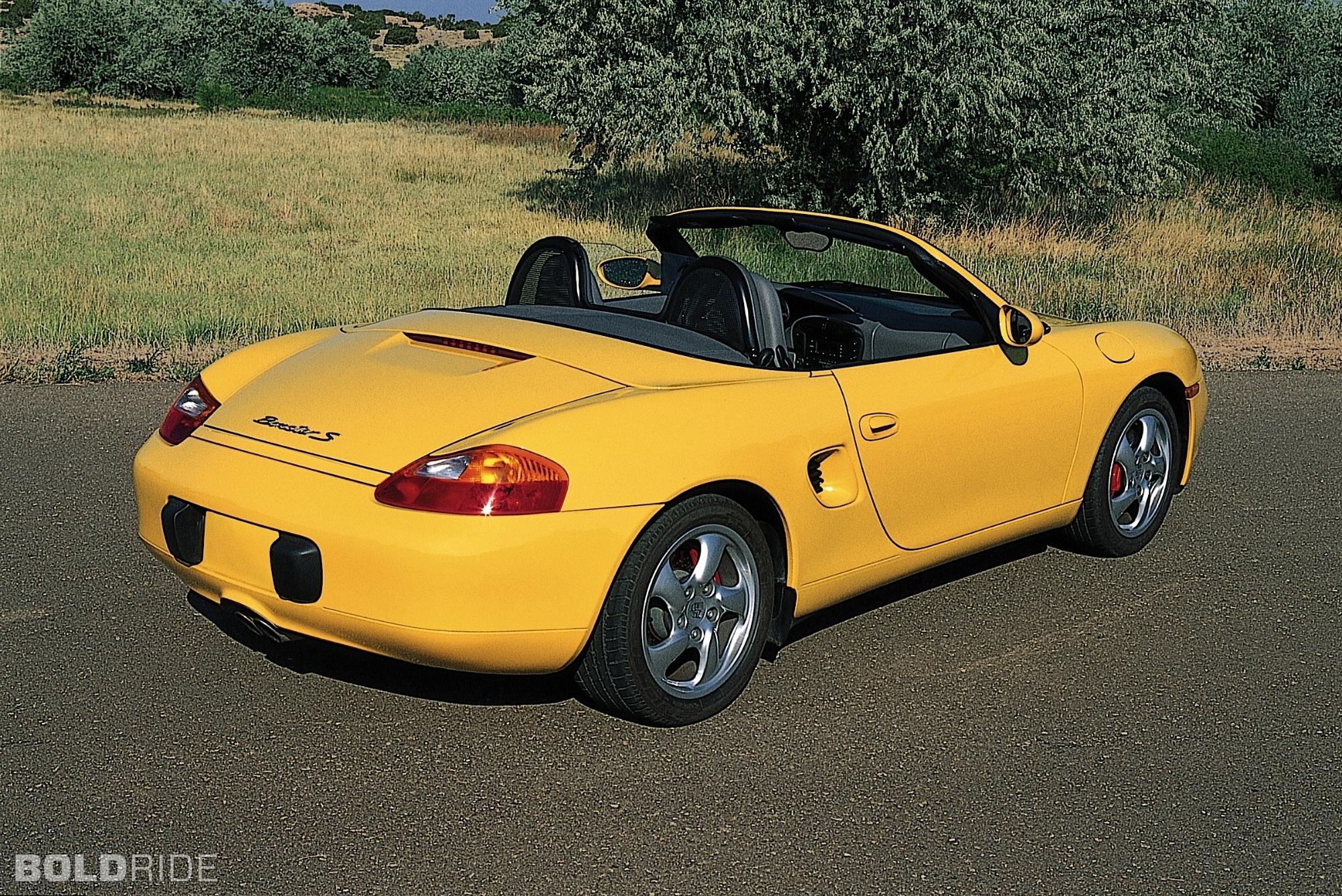 2001 Porsche Boxster Partsopen