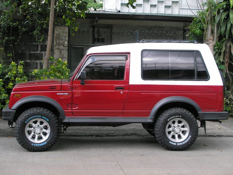 2001 Suzuki Samurai