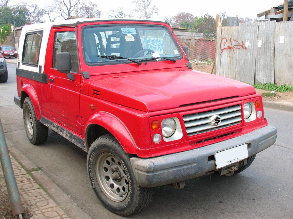 2001 Suzuki Samurai - Partsopen