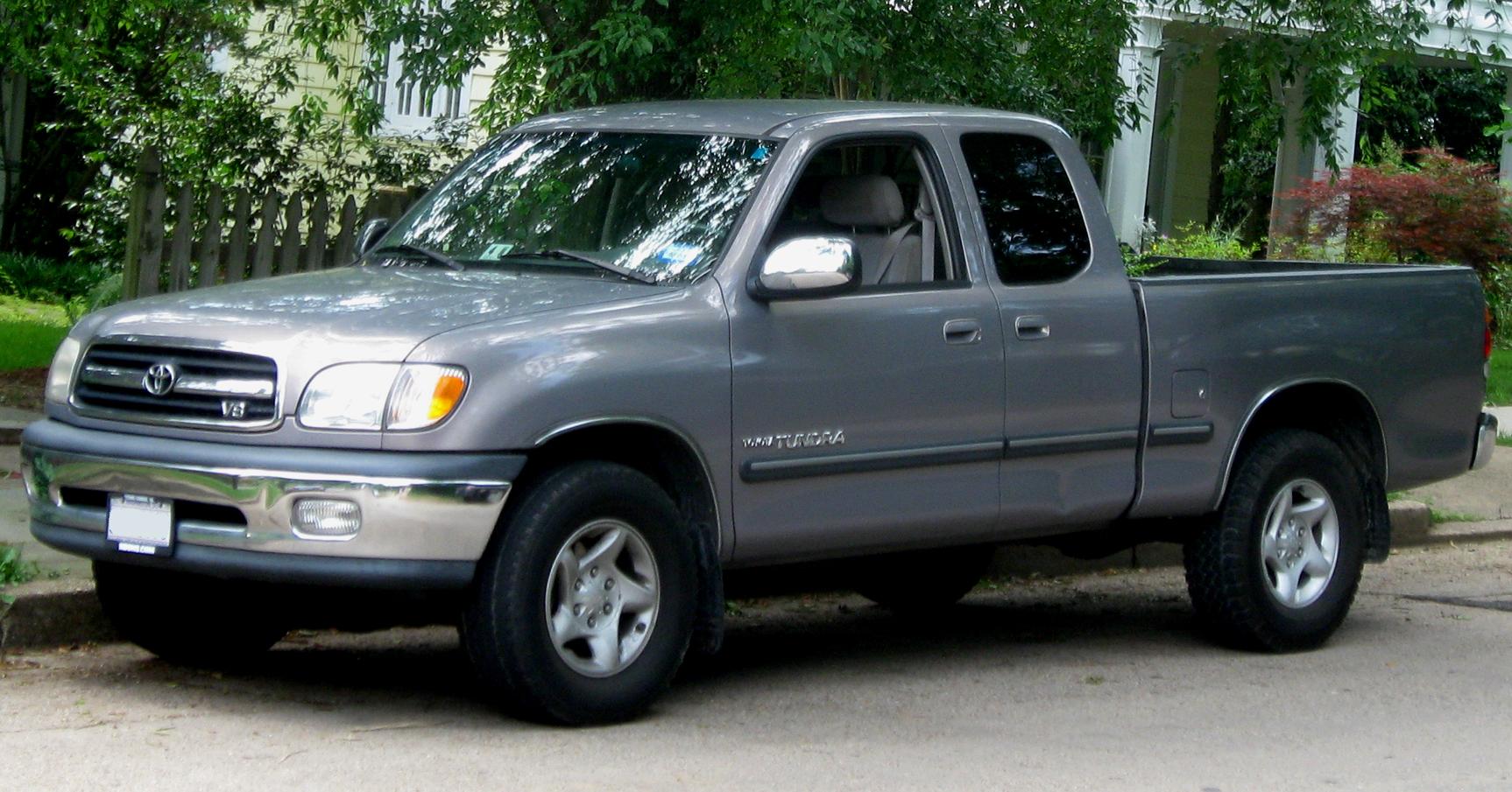 2001 Toyota Tundra Partsopen