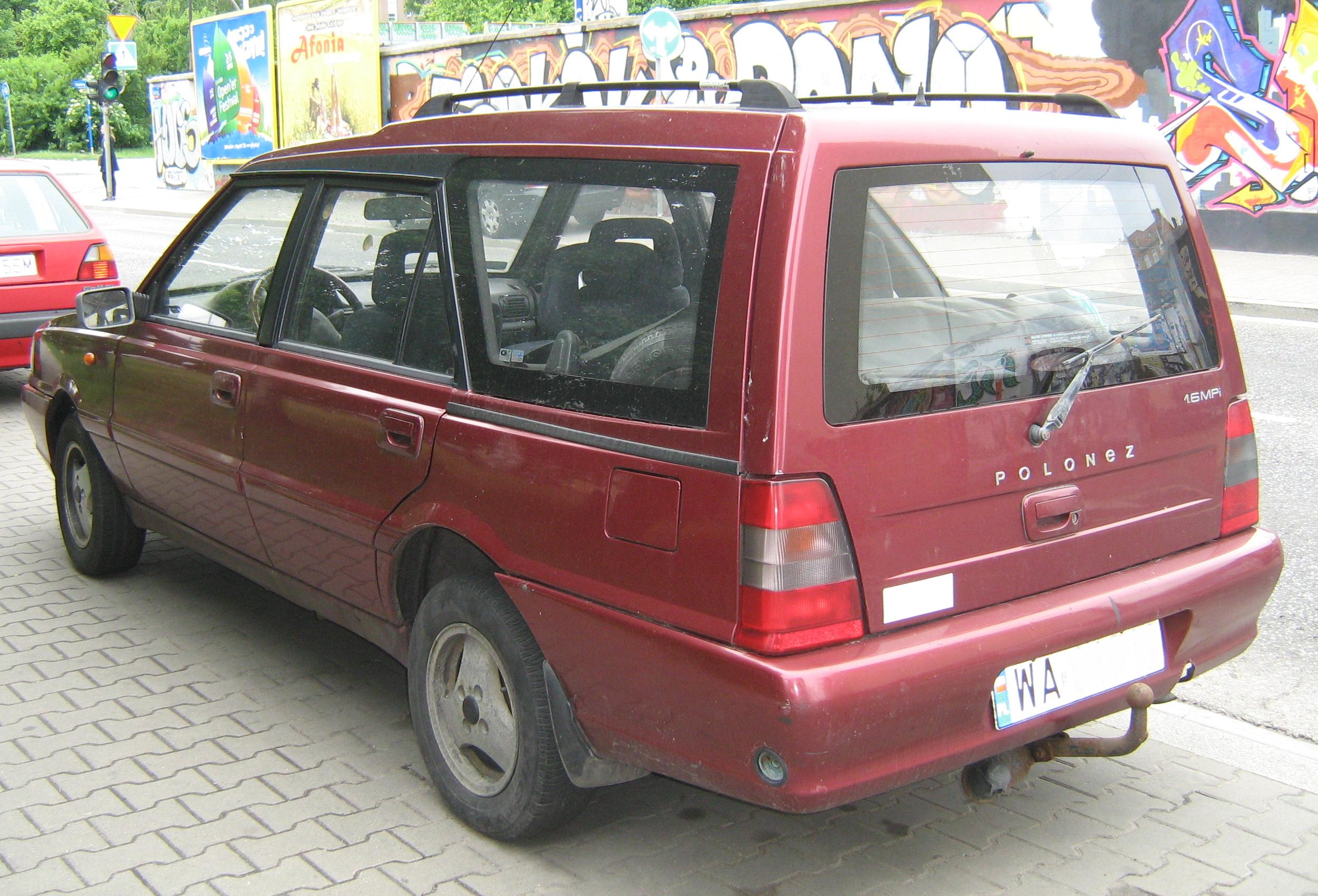 2002 FSO Polonez Kombi