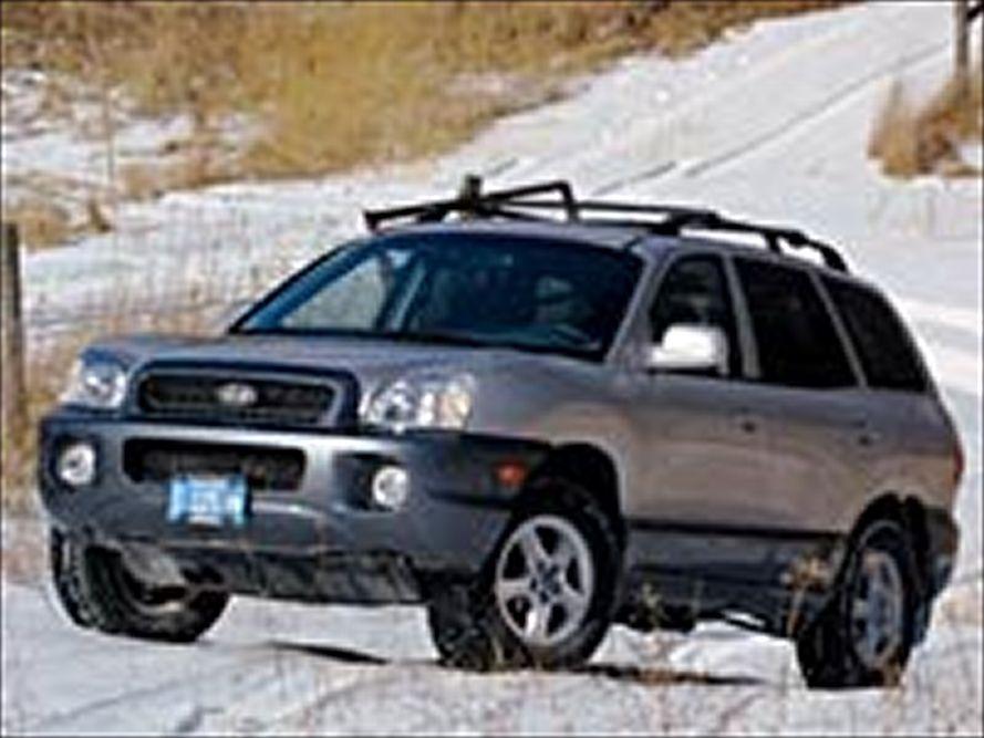 2002 Hyundai Santa Fe Partsopen