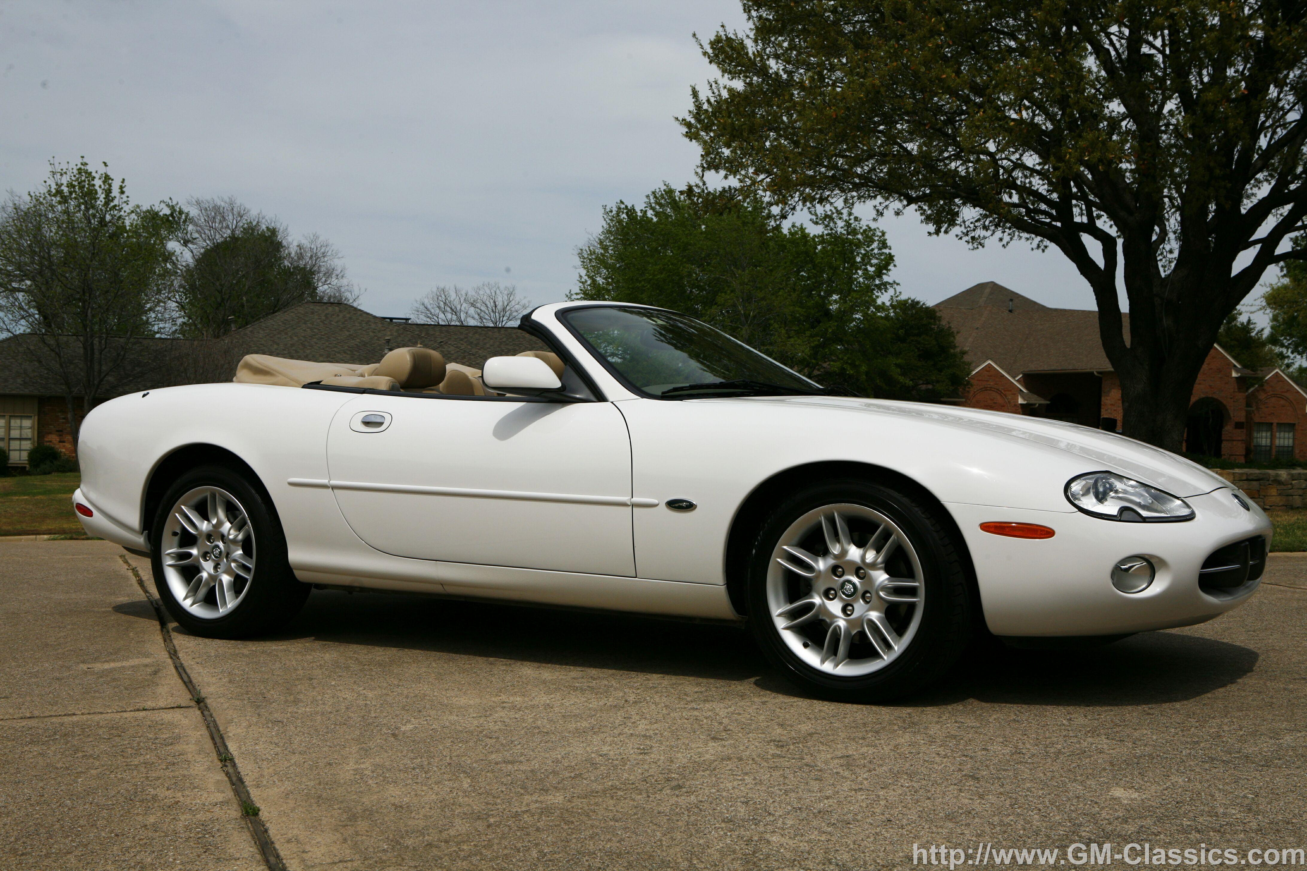 2002 Jaguar XK Convertible - Partsopen