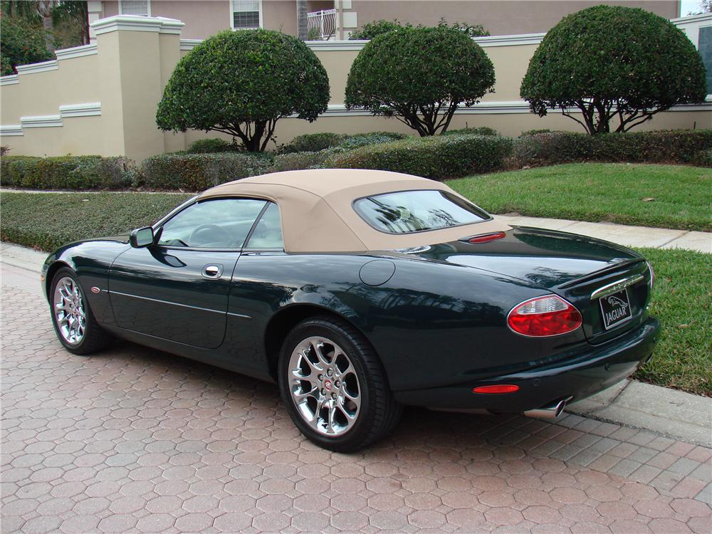 2002 jaguar xkr convertible partsopen. Black Bedroom Furniture Sets. Home Design Ideas