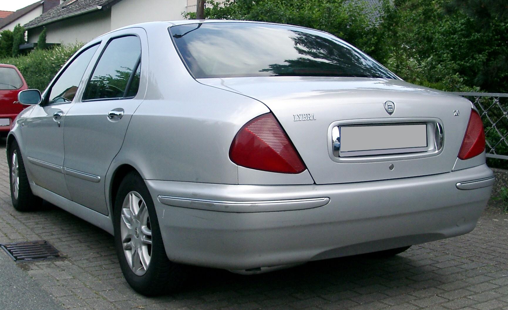 Lancia Lybra on 1999 Acura Cl Coupe