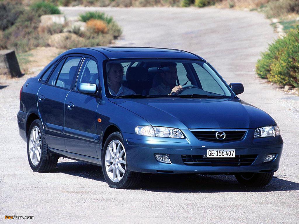 2002 mazda 626 hatchback - partsopen