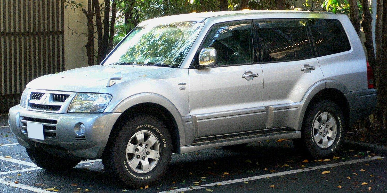 2002 Mitsubishi Pajero