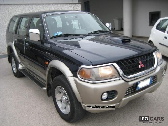 2002 Mitsubishi Pajero Sport
