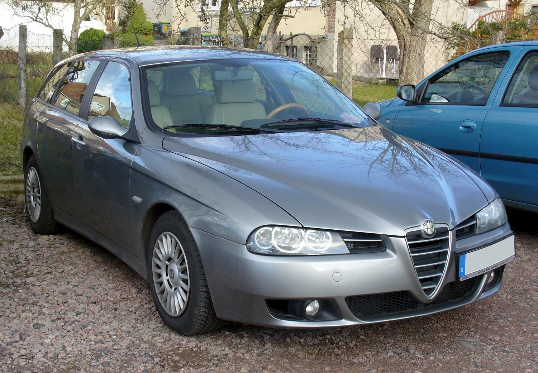 2003 Alfa Romeo 156 Sportwagon