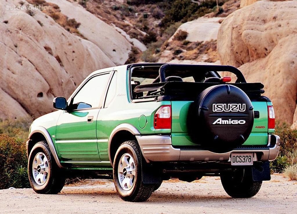 2003 Isuzu Amigo Cabrio