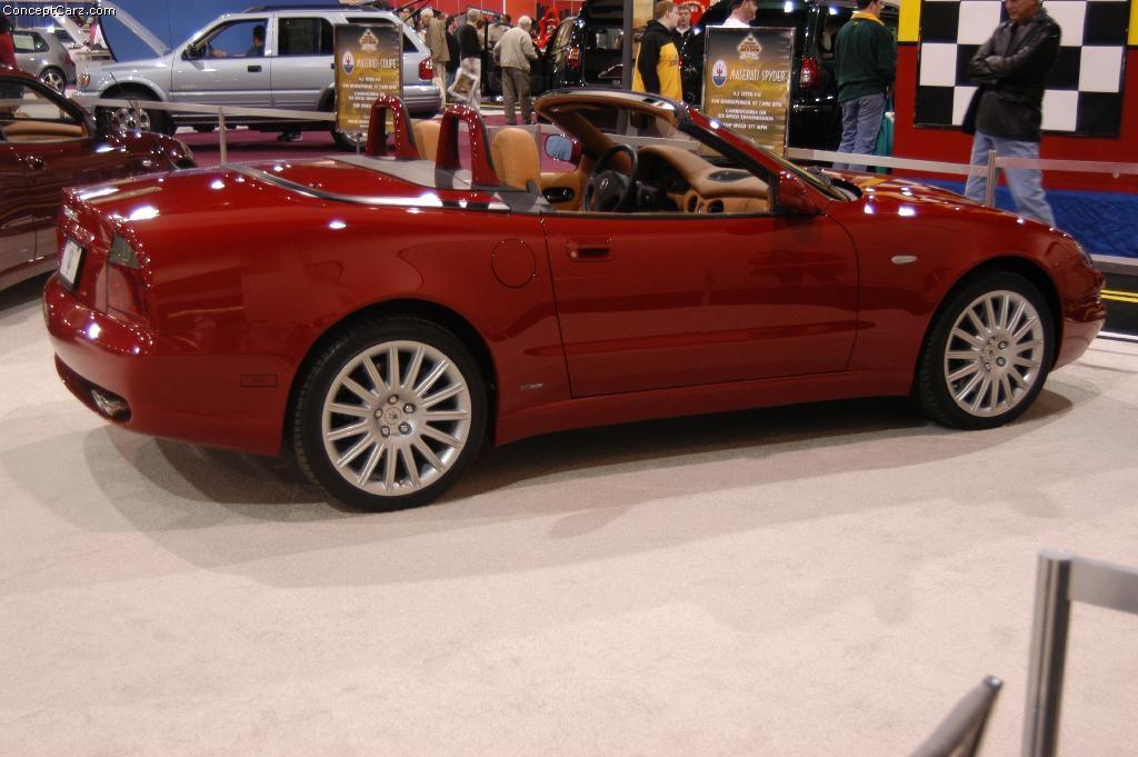 2003 Maserati Spyder Gt Partsopen