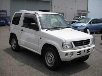 2003 Mitsubishi Pajero Mini