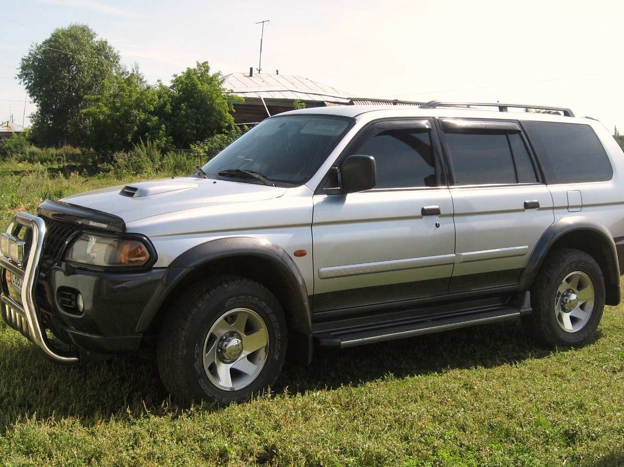 2003 Mitsubishi Pajero Sport