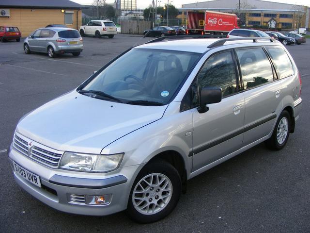 mitsubishi space wagon, 2003