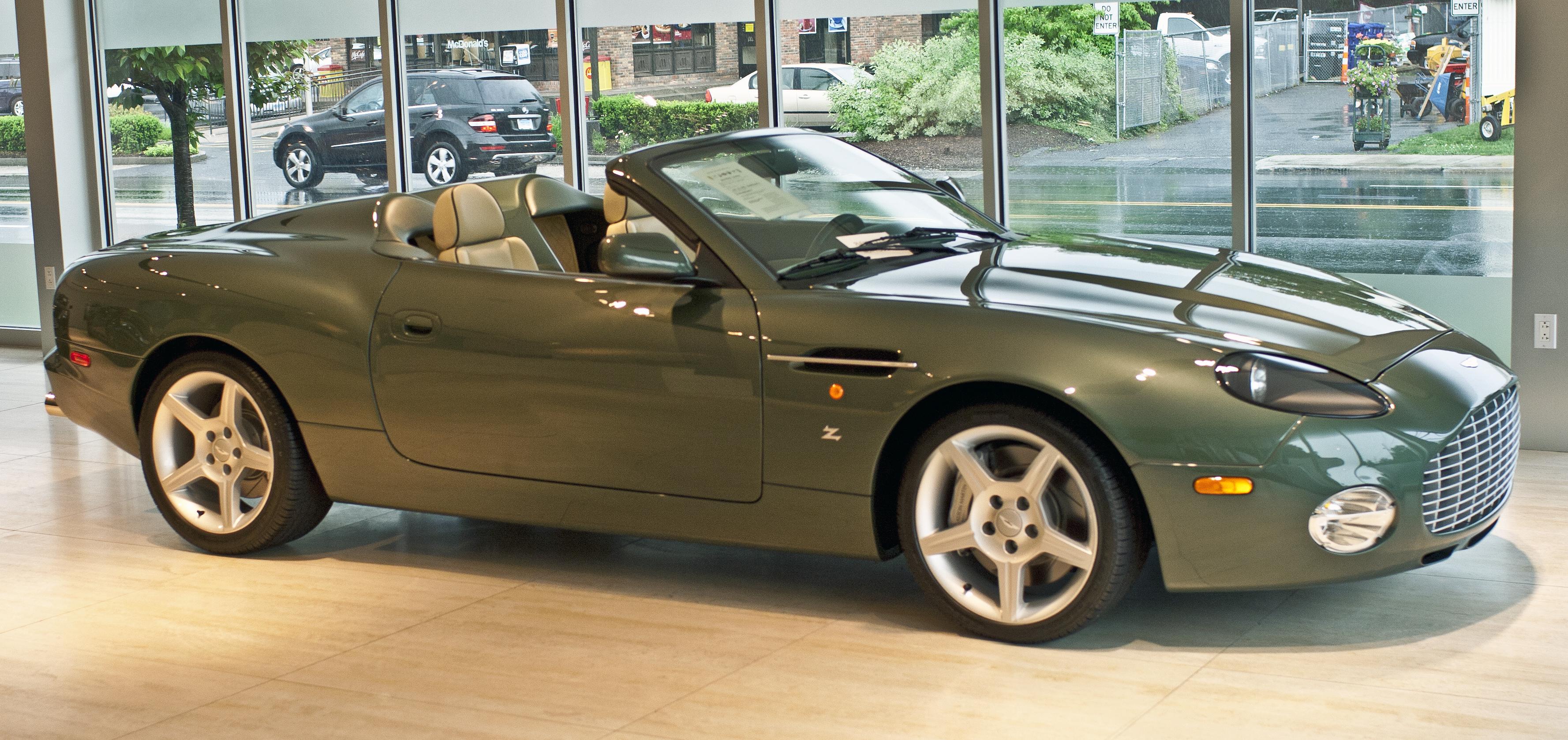2004 Aston Martin DB AR1