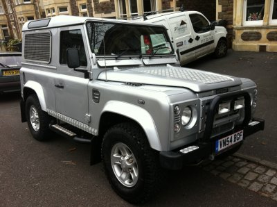 2004 Land Rover Defender
