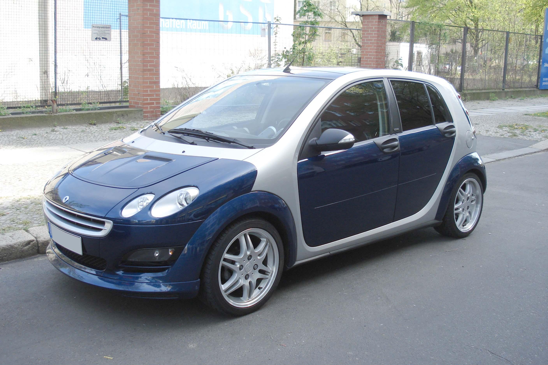 2004 smart Forfour
