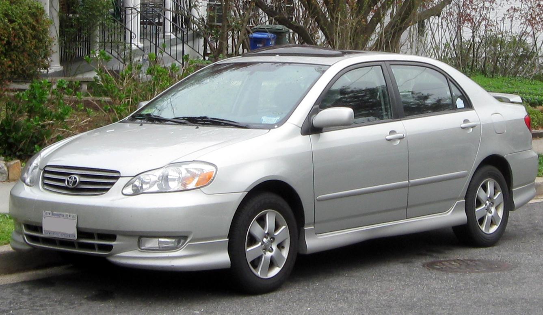 2004 Toyota Corolla Partsopen