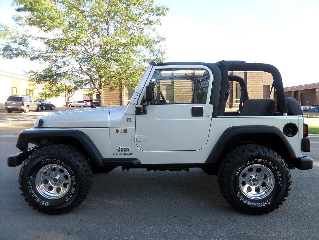 2005 Jeep Wrangler Partsopen