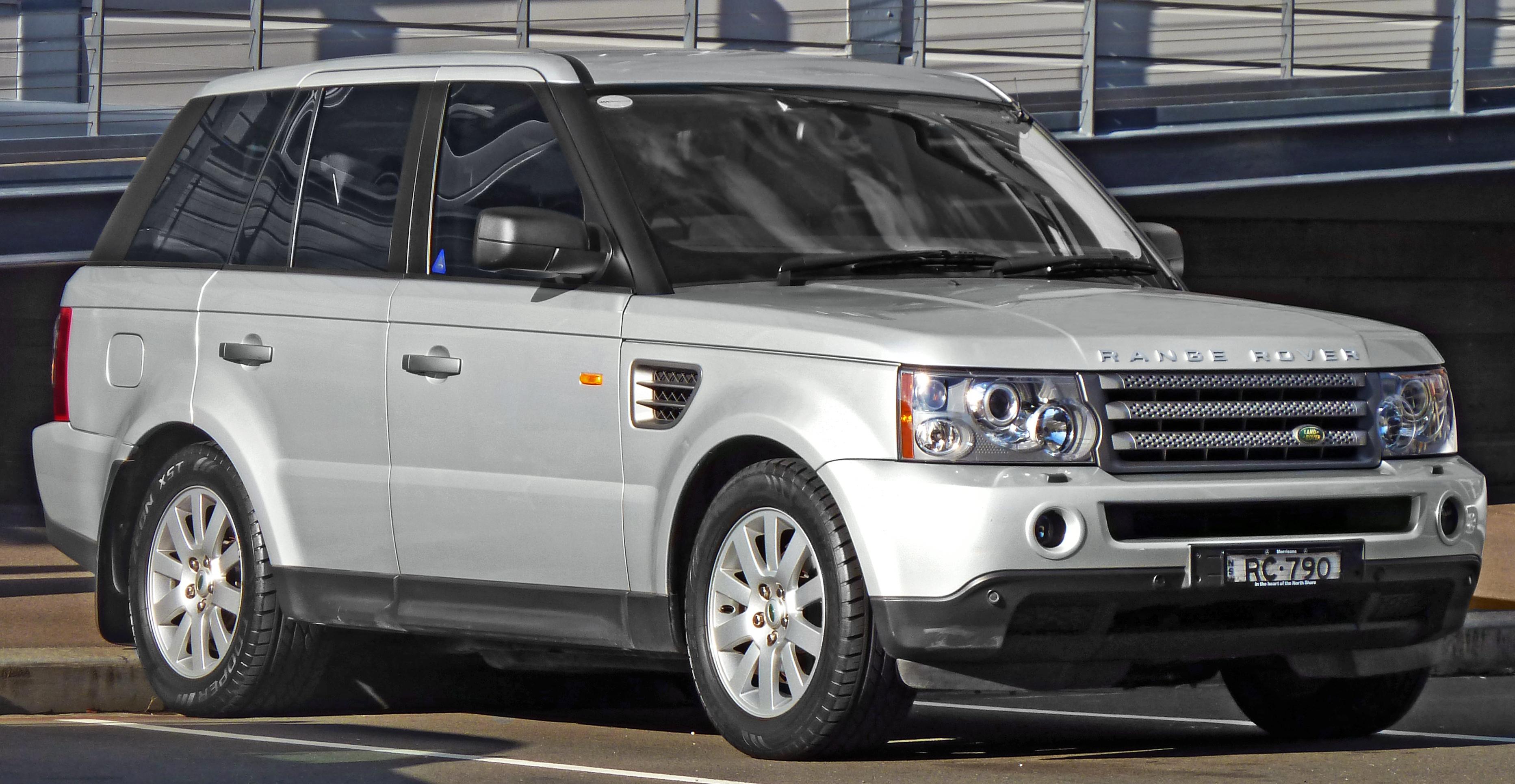 2005 Land Rover Range Rover Sport Partsopen