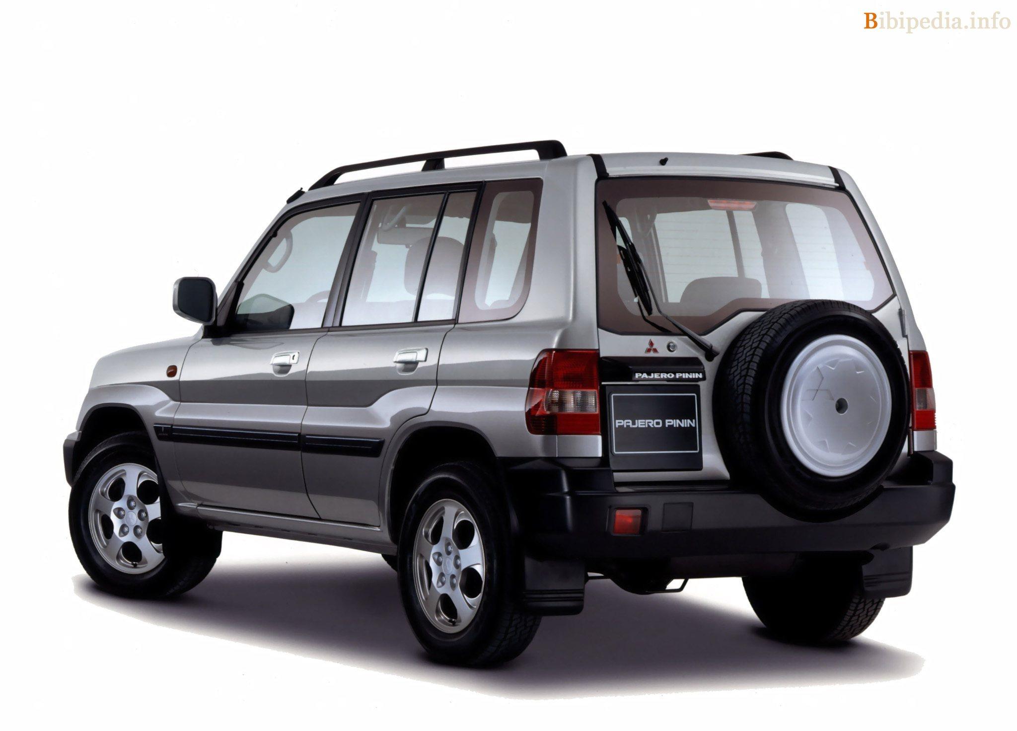 2005 Mitsubishi Pajero Pinin ⁄ Shogun Pinin ⁄ Montero iO
