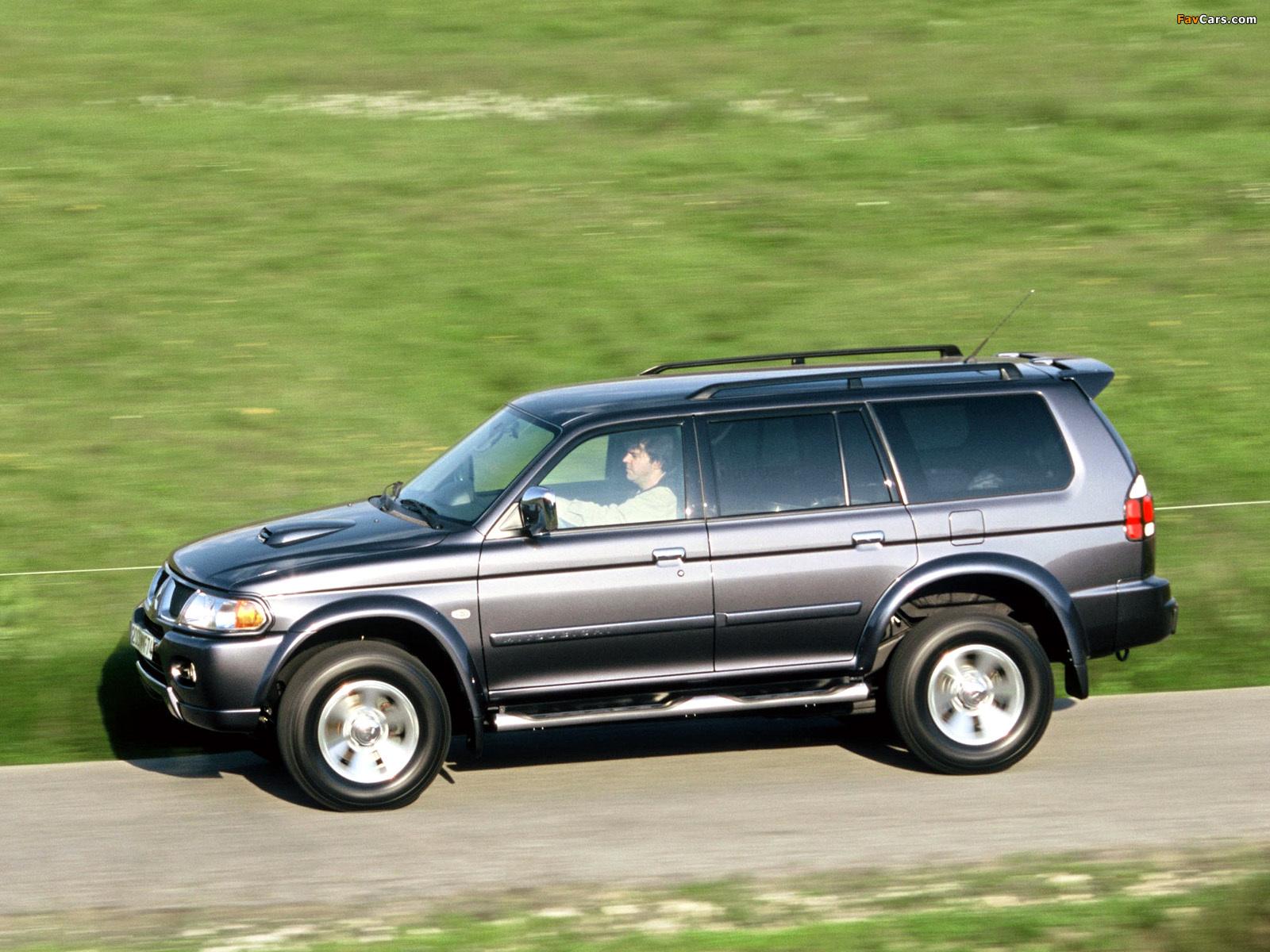 2005 Mitsubishi Pajero Sport