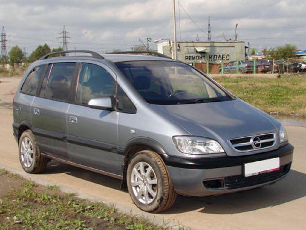 2005 Opel Zafira