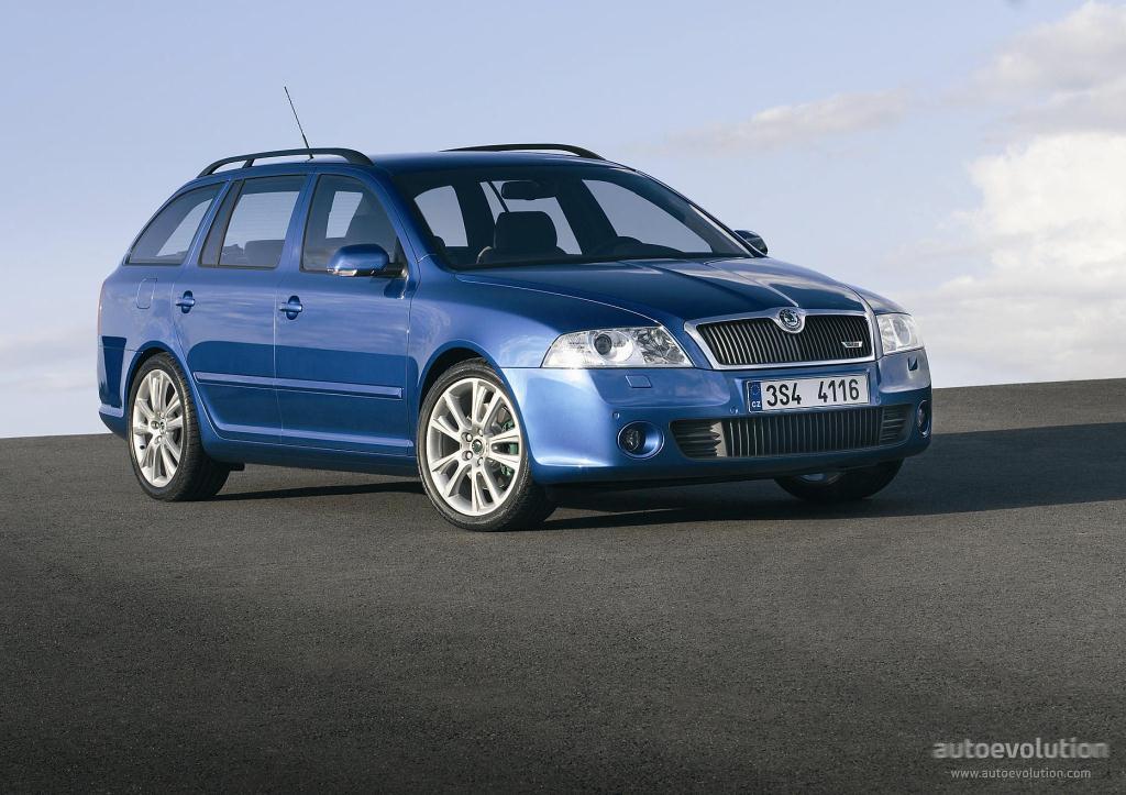 2005 Skoda Octavia Combi RS