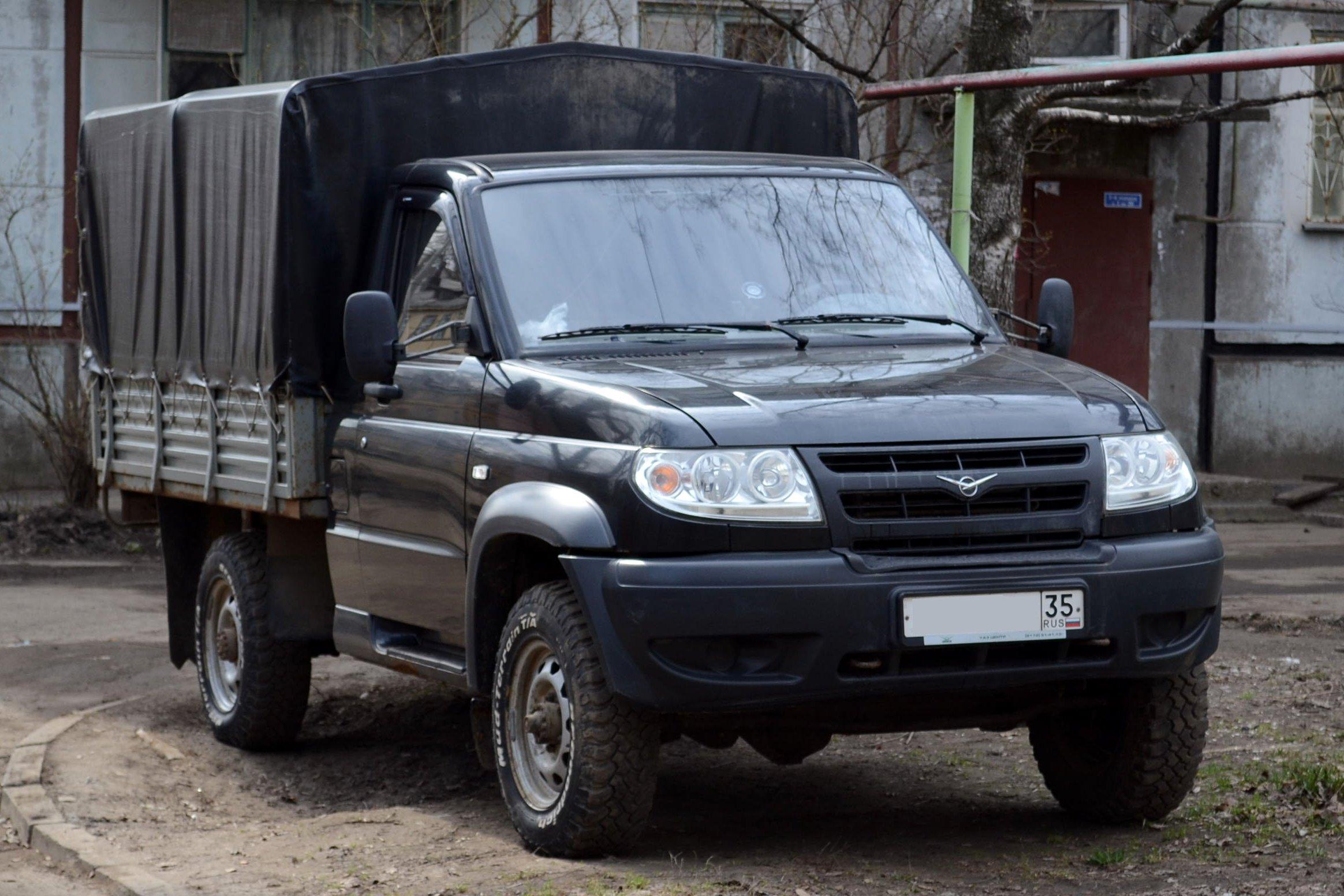 2005 UAZ Patriot