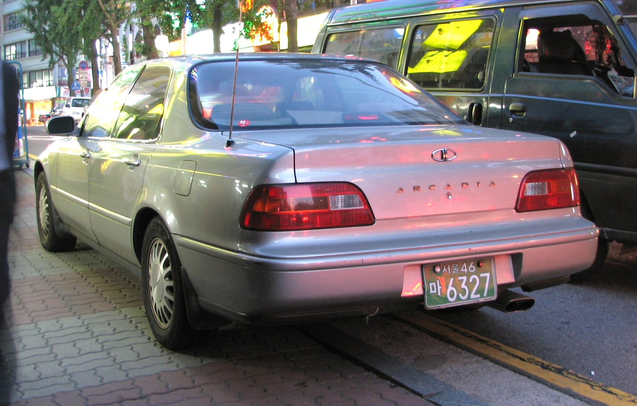 2006 Daewoo Arcadia