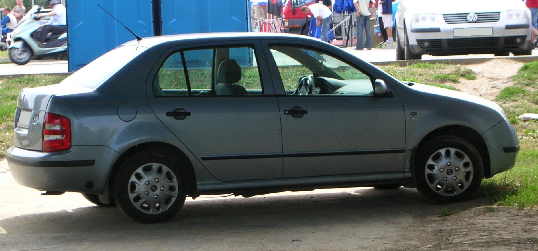 2006 Skoda Fabia Sedan