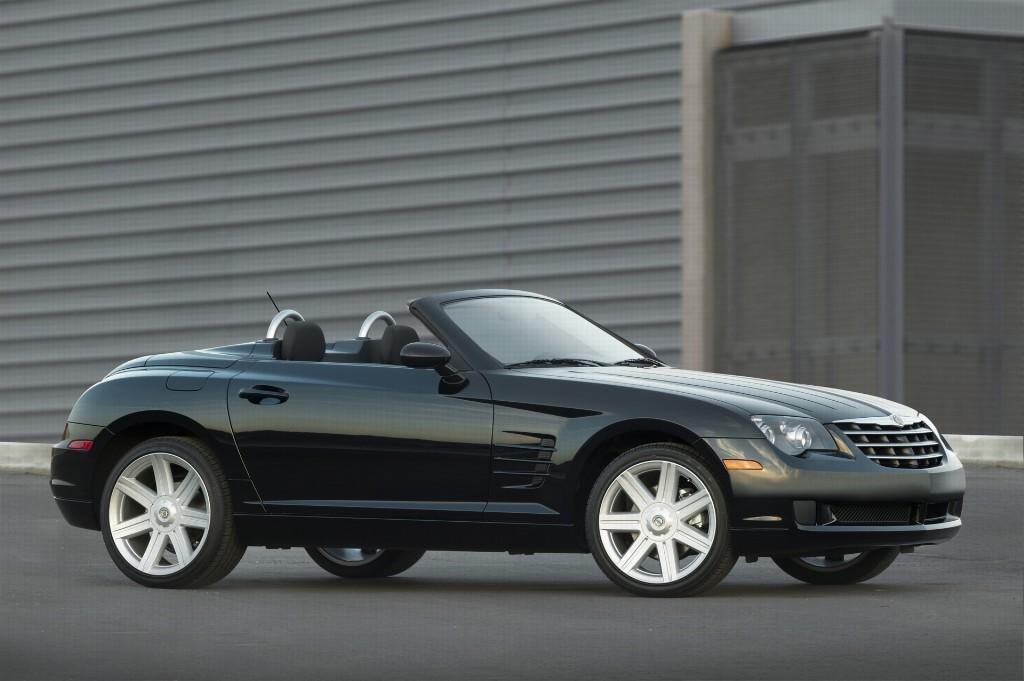 2007 chrysler crossfire roadster partsopen. Black Bedroom Furniture Sets. Home Design Ideas