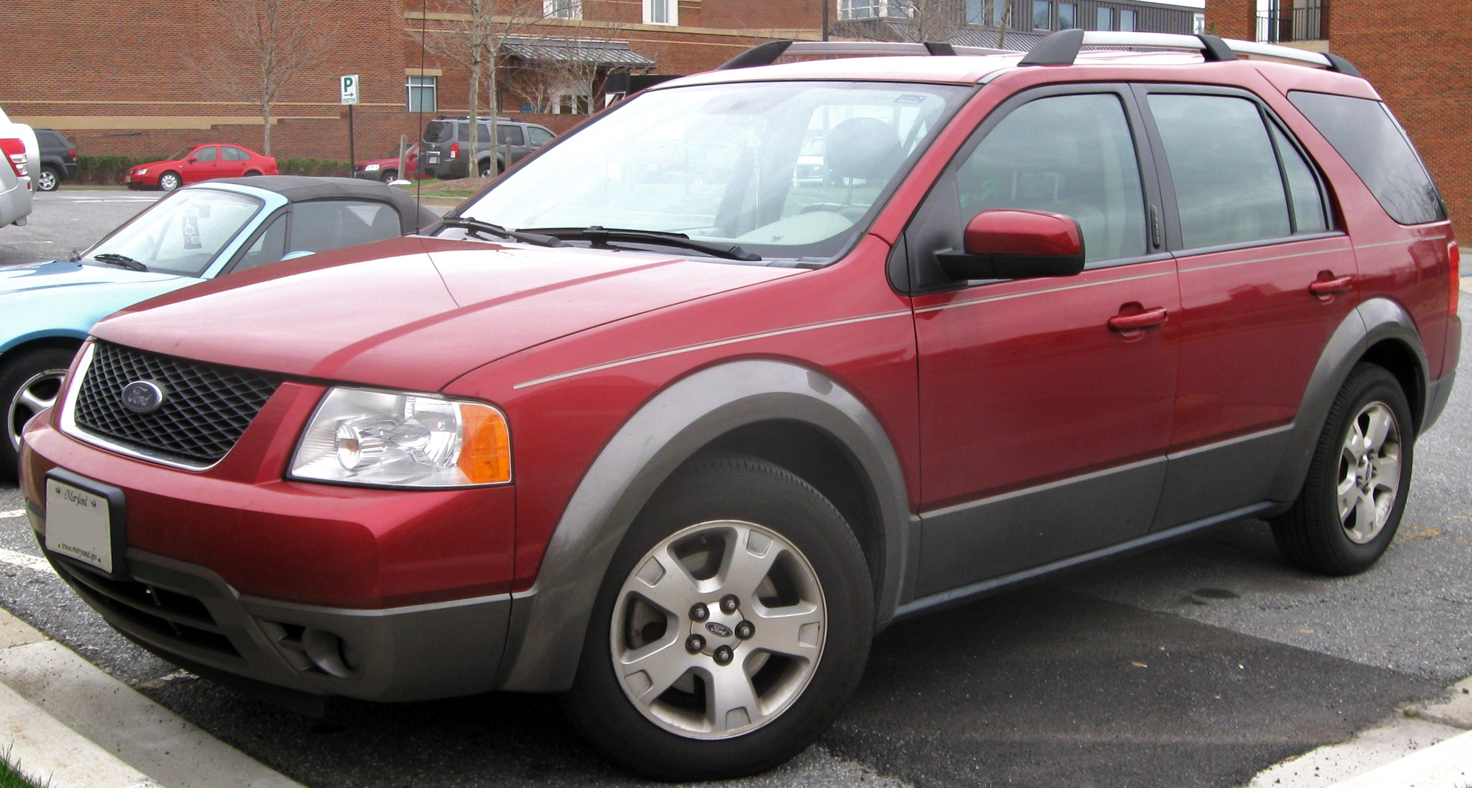 2007 Ford Freestyle Partsopen