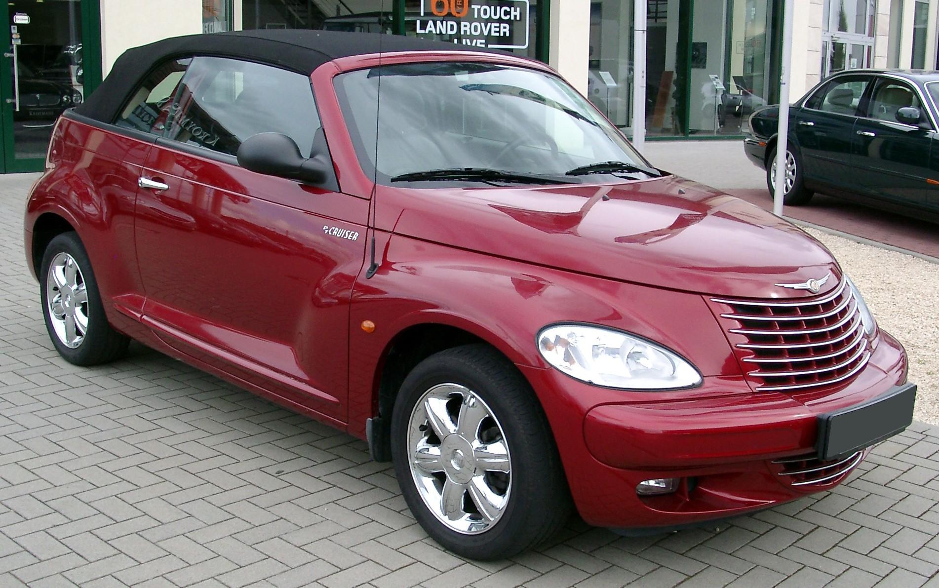 2008 Chrysler PT Cruiser Convertible