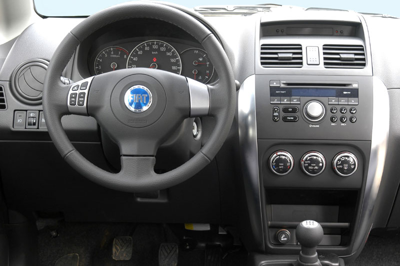 FIAT Sedici - Partsopen