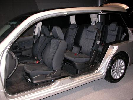 2008 Subaru Exiga Liberty