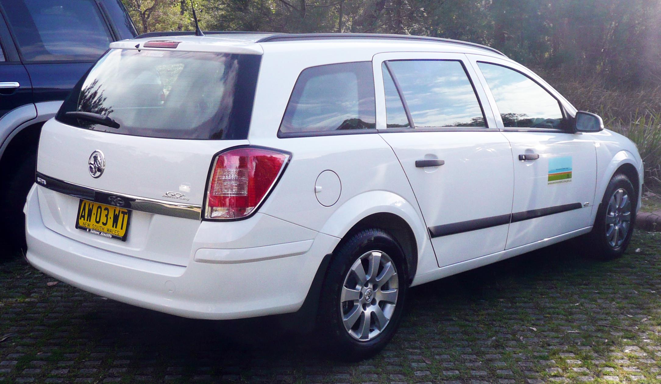 2009 HOLDEN Astra Caravan