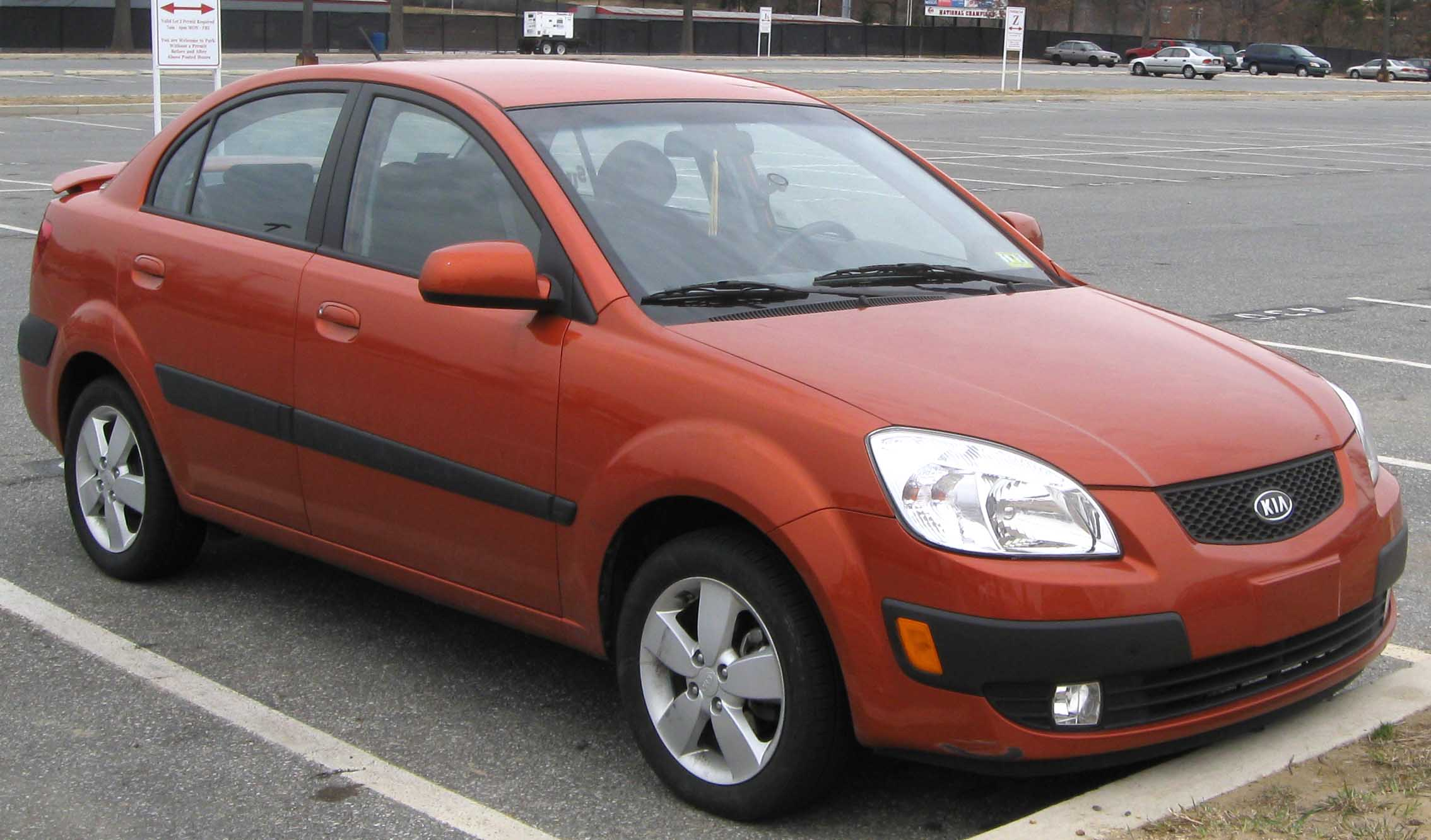 Download All Kia Rio 2009 Pictures (1.5 Mb)
