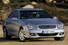 2009 Mercedes-Benz E-Klasse Coupe and predecessors