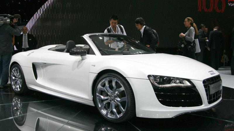 Audi R8 Spyder  Partsopen