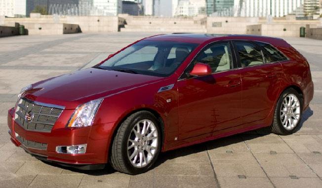 2010 Cadillac CTS-V Sport Wagon