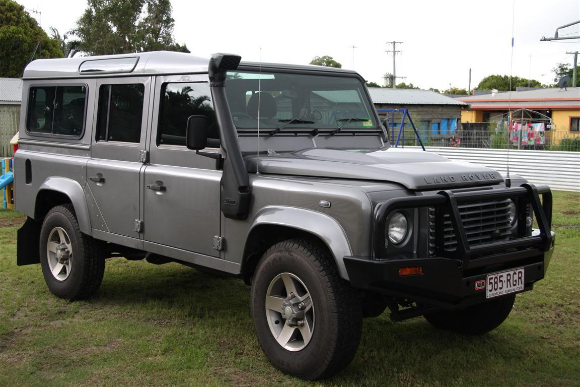 2010 Land Rover Defender SVX photo - 3