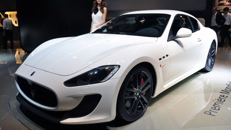 2010 Maserati Granturismo Gray | 200  Interior and Exterior Images