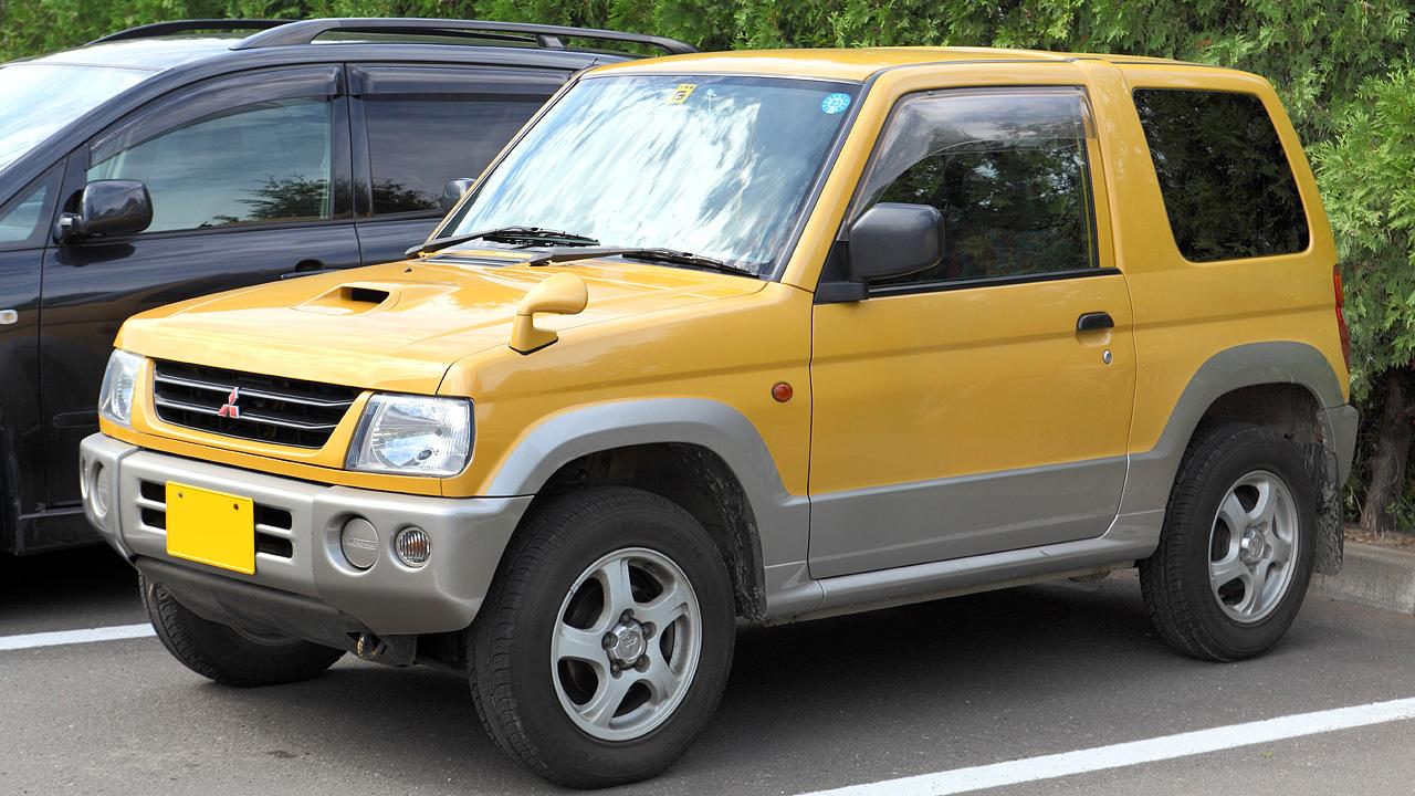 2010 Mitsubishi Pajero Mini
