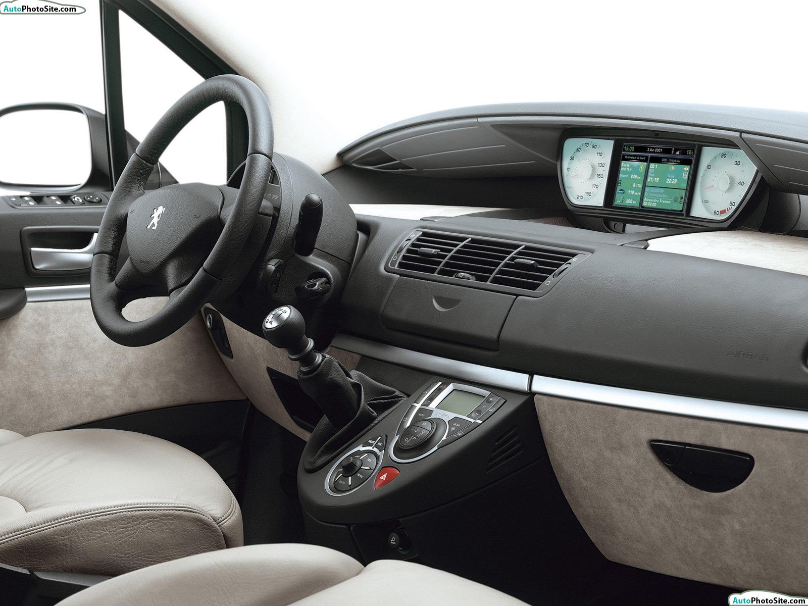 Peugeot 807 partsopen for Interior peugeot 807