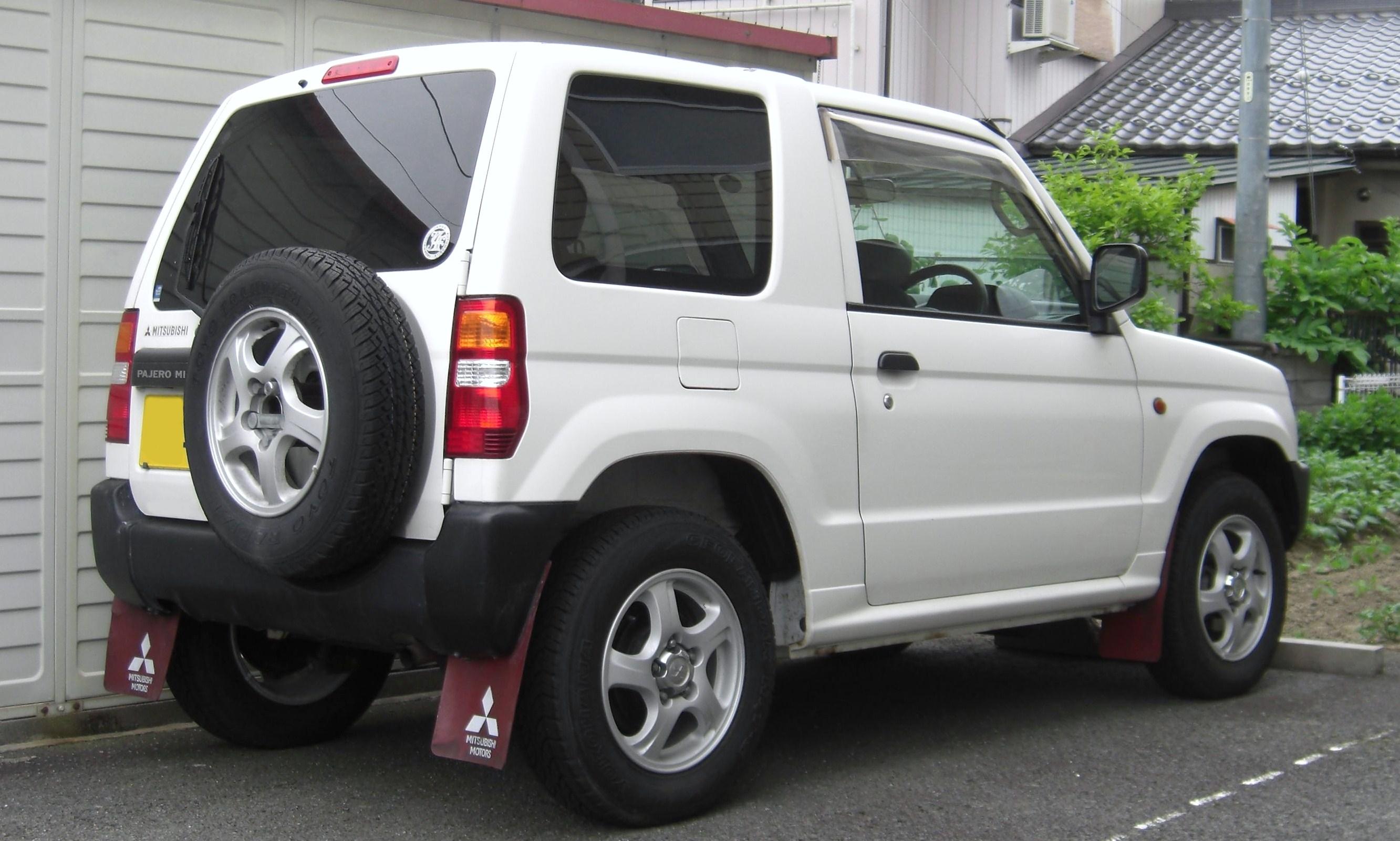 2011 Mitsubishi Pajero Mini