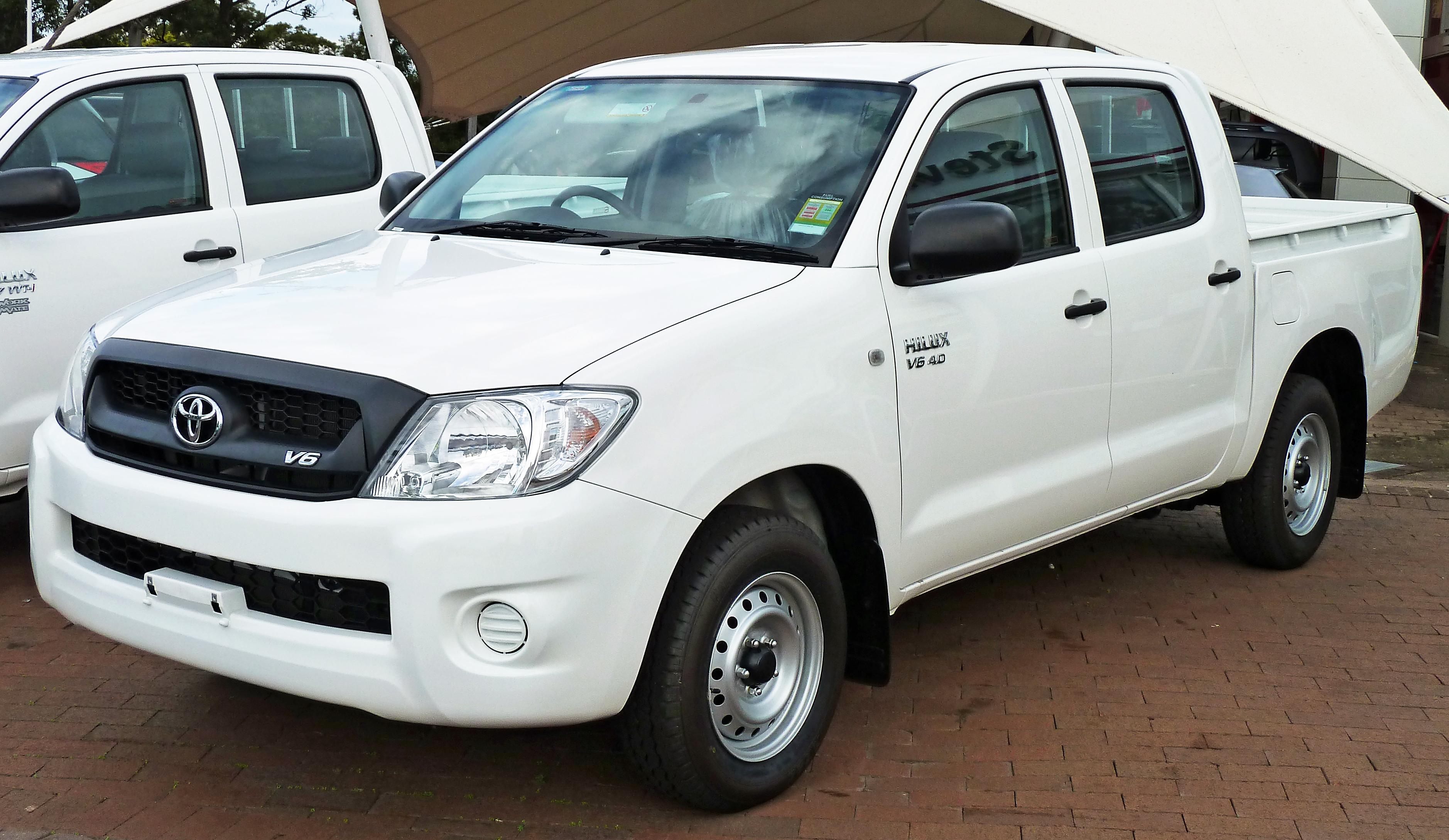 2011 Toyota Hilux - Partsopen