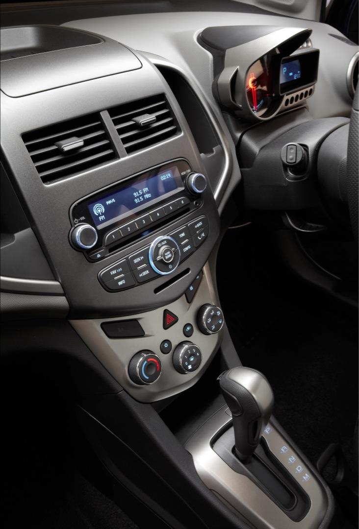 2012 HOLDEN Barina Sedan