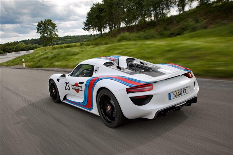 2013 Porsche 918