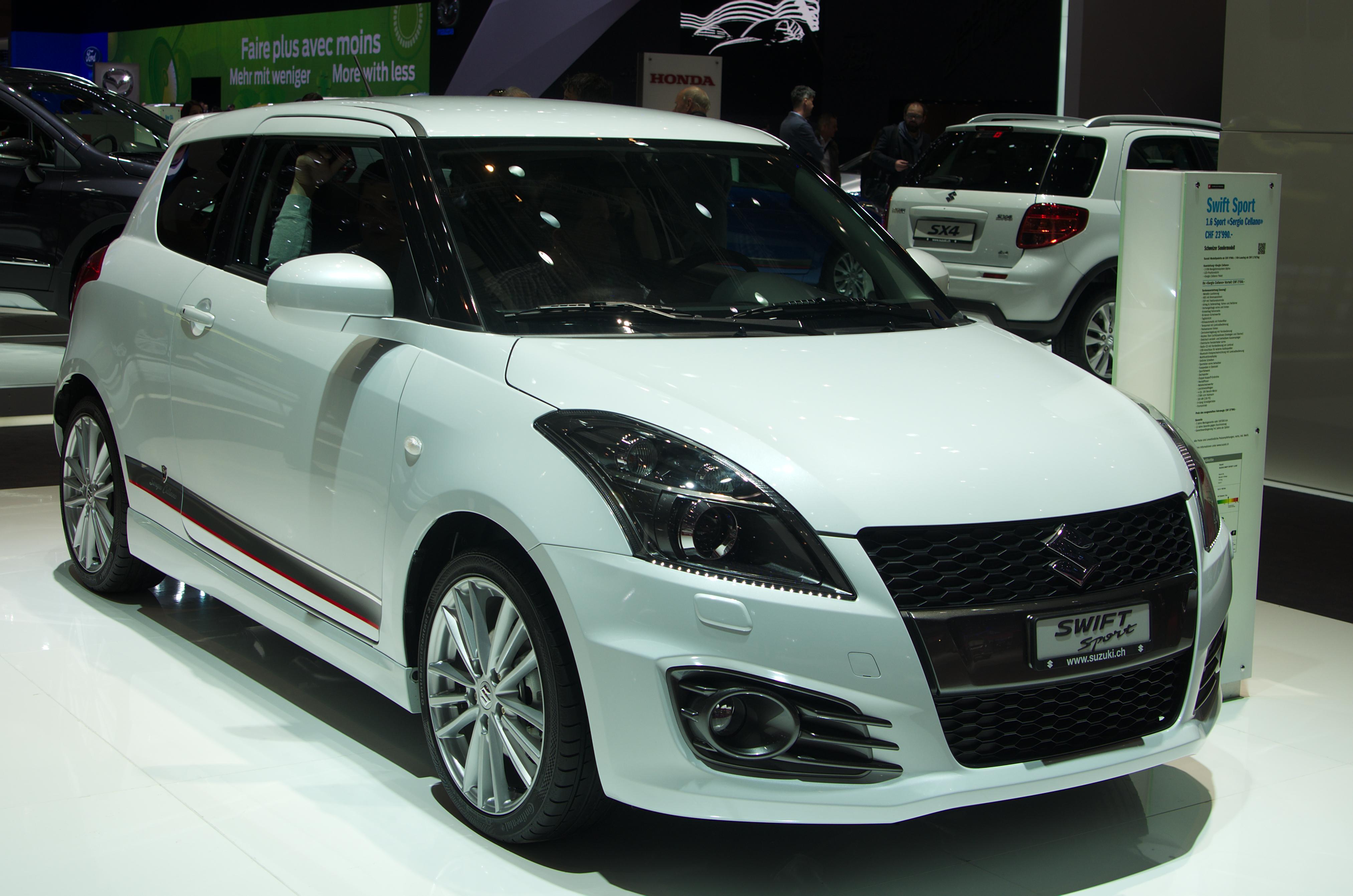 2013 Suzuki Swift